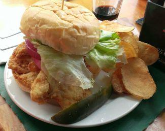 Sonka Famous Cod Fish Sandwich